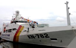 Sử dụng tàu kiểm ngư hiện đại nhất Việt Nam dò quét đáy biển