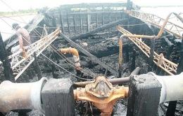 Quảng Nam: Cháy tàu câu mực, thiệt hại gần 5 tỷ đồng