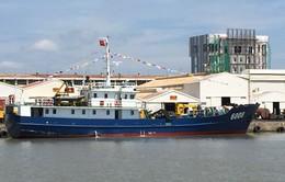 Bàn giao tàu trinh sát cho lực lượng Cảnh sát biển