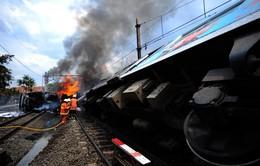 Tai nạn tàu hỏa nghiêm trọng tại Indonesia, 18 người thiệt mạng
