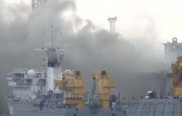 Tàu ngầm hạt nhân của Nga bất ngờ bốc cháy