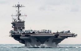 Iran bắn thử tên lửa gần tàu chiến Mỹ