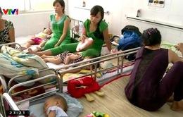 Bệnh tay chân miệng gia tăng tại TP.HCM
