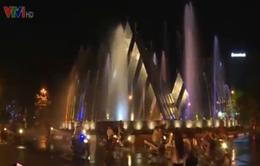 Tây Ninh: Đài phun nước gây cản trở giao thông