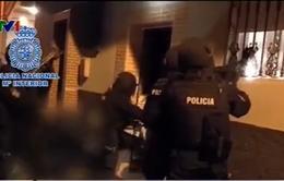 Tây Ban Nha bắt giữ 4 nghi phạm khủng bố đặc biệtnguy hiểm