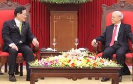 Tổng Bí thư Nguyễn Phú Trọng tiếp Chủ tịch Quốc hội Hàn Quốc
