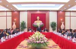 Tổng Bí thư gặp mặt các Đại sứ, Trưởng cơ quan đại diện Việt Nam ở nước ngoài