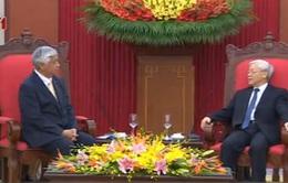 Tổng Bí thư tiếp Bộ trưởng Quốc phòng Nhật Bản
