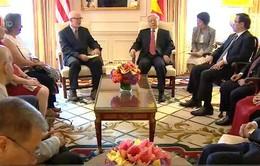 Tổng Bí thư gặp Lãnh đạo Đảng Cộng sản Hoa Kỳ và bạn bè cánh tả Hoa Kỳ