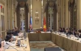 Tổng Bí thư Nguyễn Phú Trọng gặp gỡ các giáo sư trường Harvard