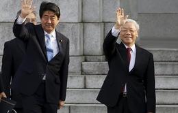 Thủ tướng Nhật Bản đón tiếp Tổng Bí thư Nguyễn Phú Trọng
