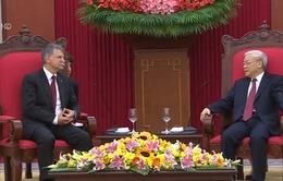 Tổng Bí thư Nguyễn Phú Trọng tiếp Chủ tịch Quốc hội Hungary