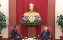 Tổng Bí thư tiếp Đại sứ Triều Tiên