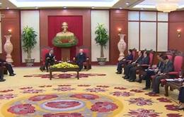 Tổng Bí thư tiếp Chủ tịch Thượng viện Nhật Bản
