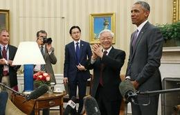 Toàn cảnh cuộc gặp gỡ báo chí của Tổng Bí thư Nguyễn Phú Trọng và Tổng thống Obama