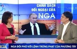 Nga đối phó với lệnh trừng phạt của phương Tây như thế nào?