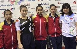 TDDC đồng đội nữ không giành huy chương: HLV hài lòng về tinh thần toàn đội