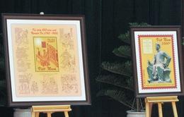 Phát hành bộ tem kỷ niệm 250 năm ngày sinh Đại thi hào Nguyễn Du