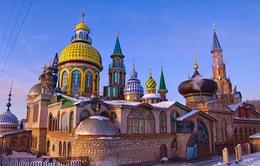 Tuyệt đẹp ngôi đền của tất cả các tôn giáo ở Nga