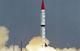 Pakistan phóng thử thành công tên lửa đạn đạo Shaheen III