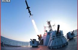 Triều Tiên thử tên lửa chống hạm kiểu mới