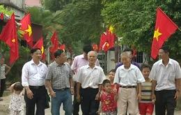 Niềm vui đón Tết Độc lập ở một miền quê Bắc Ninh