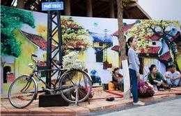 Thưởng lãm chợ Tết trong không gian đô thị