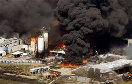 Mỹ: Cháy nổ lớn tại nhà máy hóa chất tại Texas