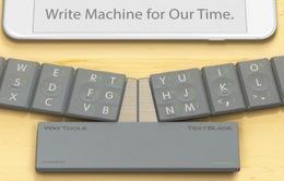 TextBlade - Bàn phím lắp ráp độc đáo cho smartphone và tablet