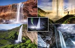 Những thác nước đẹp huyền ảo ở vùng núi Iceland