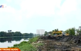 Dự án kênh Tham Lương: 10 năm thi công vẫn ì ạch, chậm tiến độ