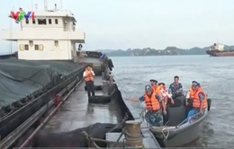 Bắt giữ 2.000 tấn than cám lậu tại vùng biển Quảng Ninh