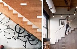 Mẹo tận dụng gầm cầu thang tiết kiệm không gian nhà ở