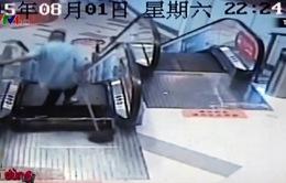 Trung Quốc: 1 tuần, 3 vụ tai nạn thang cuốn nghiêm trọng
