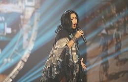 Thanh Lam đẹp mặn mà trên sân khấu chương trình Tết 365