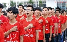 Sáng 2/9, Hà Nội thực hiện nghi lễ chào cờ tại nhiều địa điểm