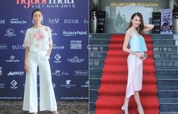 Vietnam's Next Top Model 2015: Đọ vẻ quyến rũ của Thanh Hằng, Mâu Thủy