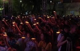 TP.HCM: 1.000 ngọn nến thắp sáng ước nguyện bệnh nhi ung thư