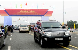 Khánh thành nhiều công trình giao thông quan trọng tại miền Trung