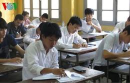 Kỳ thi THPT Quốc gia năm 2016 dự kiến rút ngắn còn 3 ngày