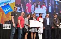 Sinh viên Việt Nam giành giải 3 Cuộc thi tin học văn phòng thế giới