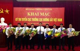 Thi tuyển Cục trưởng Cục Đường sắt Việt Nam