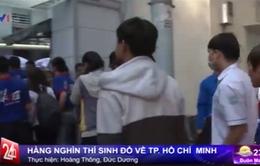 Hàng nghìn thí sinh đổ về TP.HCM thi tốt nghiệp THPT Quốc gia