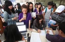 Có thể thay đổi nguyện vọng xét tuyển kỳ thi quốc gia qua mạng
