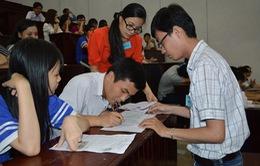 Hôm nay, thí sinh cả nước làm thủ tục dự thi THPT Quốc gia