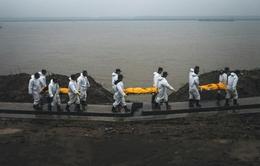 Trung Quốc xúc tiến nhận dạng thi thể nạn nhân vụ chìm tàu