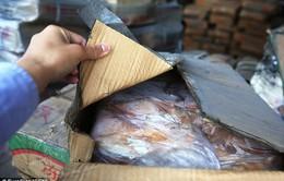 Hé lộ con đường tuồn thịt đông lạnh vào Trung Quốc