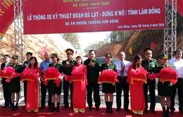 Thông xe đường Trường Sơn Đông đoạn qua Lâm Đồng