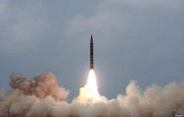 Pakistan phóng thử thành công tên lửa mang đầu đạn hạt nhân