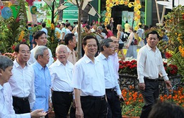 Thủ tướng dự lễ hội Đường hoa Tết tại TP.HCM